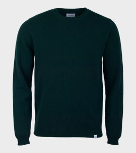 Norse Project Sigfred Lambswool Knit Green - dr. Adams
