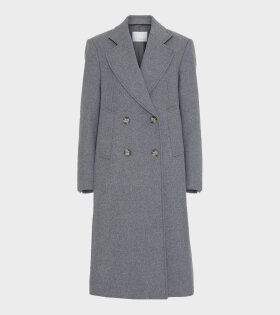Remain Debbie Coat Heavy Wool Grey - dr. Adams