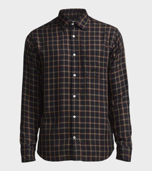 NN07 - Errico Pocket Shirt Blue