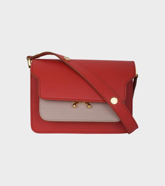 Marni - Mini Trung Bag Red/Rose