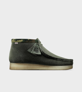 Wallabee Boot Olive Camuflage Carhartt X Clarks - dr. Adams