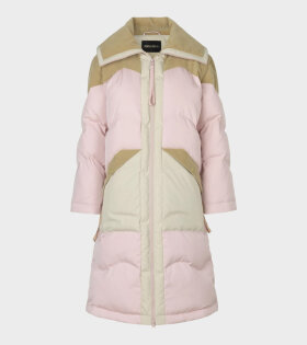 Stine Goya Madia Down Outwear Jacket Pink/Brown - dr. Adams