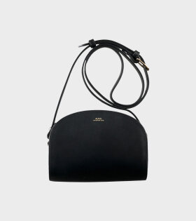 Sac Demi Lune Mini Bag Black