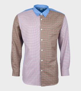 Comme Des Garçons Shirt Longsleeved Shirt Multicolor - dr. Adams