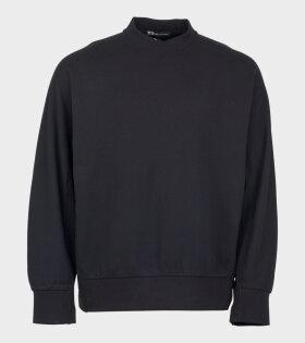 Y-3 M TOKETA SWT FJ Long Sleeve T-shirt Black - dr. Adams