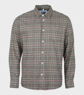Logan Flannel Shirt Green