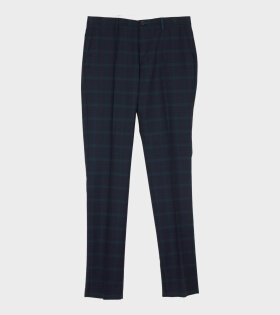 Paul Smith Mens Trouser Mid Fit Blue - dr. Adams