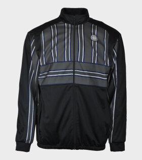 Track Logo Jacket Grey