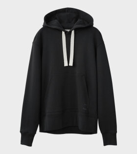 Acne Studios Fellis Logo Hooded Sweatshirt Black - dr. Adams