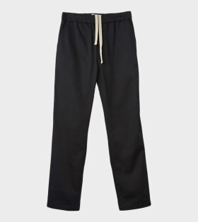Acne Studios Paco Co Satin Sporty Trousers Black - dr. Adams
