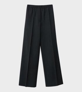 Acne Studios Straight-Leg Trousers Black - dr. Adams