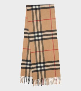 Burberry Giant Check Cashmere Scarf Archive Beige - dr. Adams