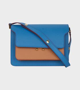 Medium Trunk Bag Blue/Brown