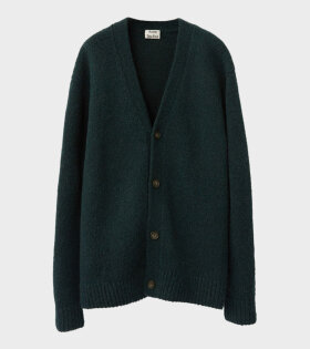 Acne Studios Kabelo Cashmix Relaxed Cardigan Bottle Green - dr. Adams