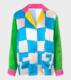 Diced Dream Shirt Multicolor