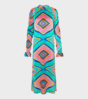Kaleidoscope Dress Multicolor