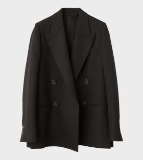 Acne Studios Double Breasted Blazer Black - dr. Adams