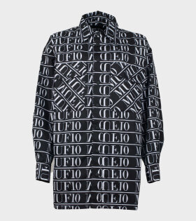 MUF10 Lumber Shirt Monogram Jacket Black - dr. Adams