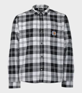 Carhartt Pulford Shirt Jacket Black/White - dr. Adams