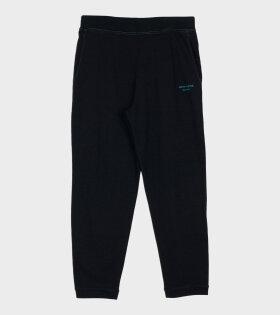 Acne Studios Franco Acid Logo-Embroidered Sweatpants Black - dr. Adams