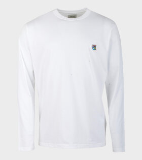 Tonsure David T-shirt White With Teddy Logo - dr. Adams