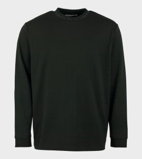 Acne Studios Elogho Logo-Jacquard T-shirt Green - dr. Adams
