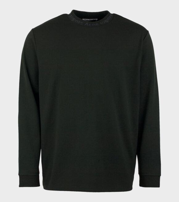 Acne Studios - Elogho Logo-Jacquard T-shirt Green