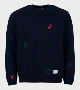 Paul Smith Mens Pullover Crew Neck Blue - dr. Adams