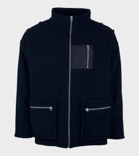 Tonsure Chas Jacket Blue - dr. Adams