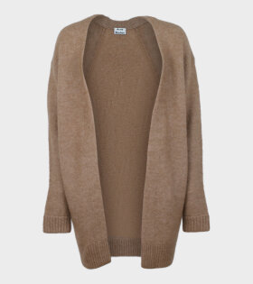 Acne Studios Raya Sh Mohair Cardigan Brown - dr. Adams