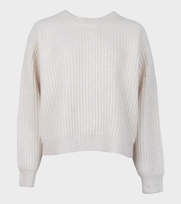 Acne Studios - Rib-Knit Sweater White