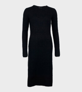 Acne Studios Mohair-Blend Black - dr. Adams