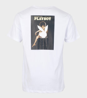 Soulland Meets Playboy October T-shirt White - dr. Adams