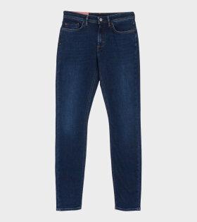 Acne Studios Climb Mid-Rise Skinny Jeans Blue - dr. Adams