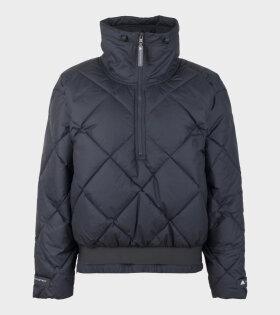 Adidas By Stella McCartney Padded Pull On Jacket Black - dr. Adams