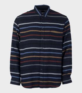 Henrik Vibskov Inner Shirt M204 Blue - dr. Adams