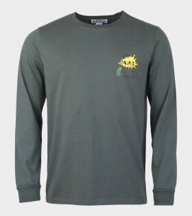 A.P.C Brain Dead Molly H Long Sleeve T-shirt Green - dr. Adams