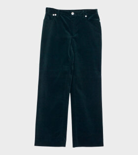 A.P.C Jean Sailor Vert Pants Green - dr. Adams