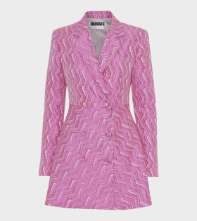 Rotate Number 23 Dress Pink - dr. Adams