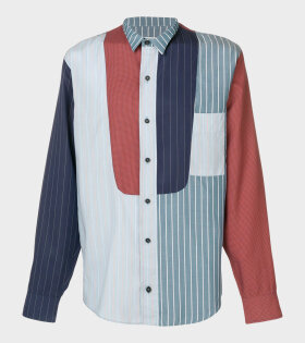 Henrik Vibskov Fullmoon Shirt Blue - dr. Adams