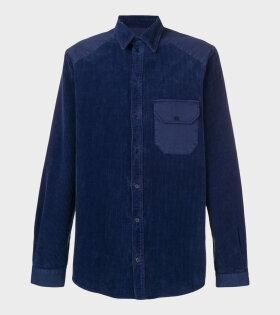 Henrik Vibskov Landmark Shirt Blue - dr. Adams
