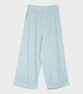 Henrik Vibskov Kentucky Trousers Light Blue - dr. Adams