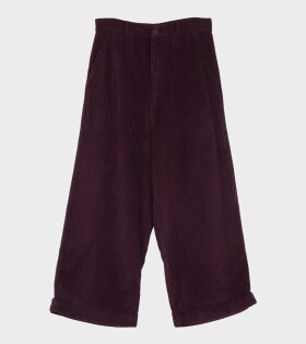 Henrik Vibskov Kentucky Trousers Purple - dr. Adams