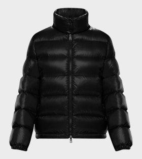 Moncler Copenhague Giubbotto Jacket Black - dr. Adams