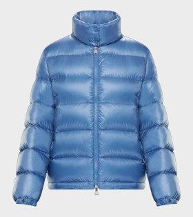 Moncler Copenhague Giubbotto Jacket Blue - dr. Adams