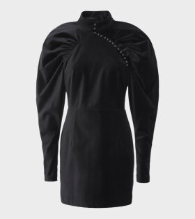 Rotate Number 1 Velvet Blazer Dress Black - dr. Adams