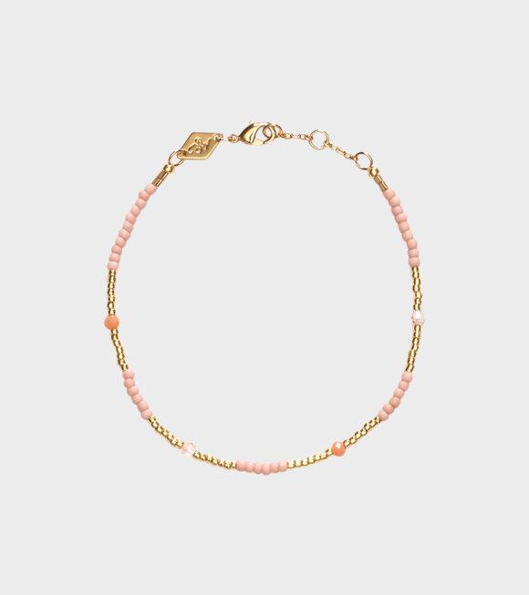 Anni Lu - Clemence Bracelet Pink Sand