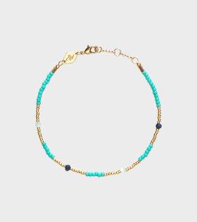 Anni Lu Clemence Bracelet Aqua Sky - dr. Adams