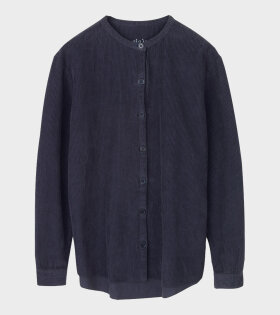 Aiayu Mao Shirt Corduroy Blue - dr. Adams