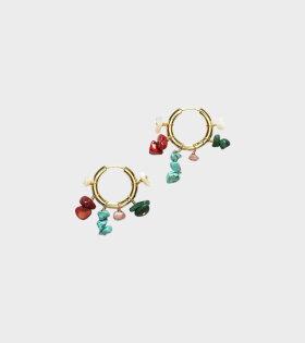 Anni Lu Carine Hoop Earrings Gold - dr. Adams